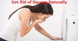 Get Rid of Nausea Naturally