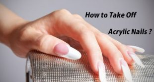 How to take off acrylic nails