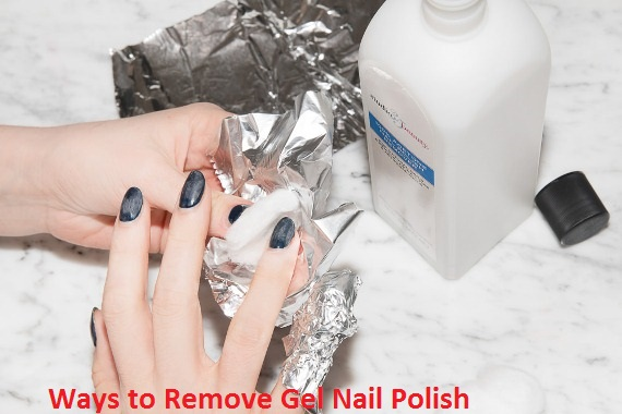 how to get rid of gel nail polish