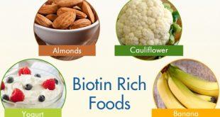 biotin rich foods