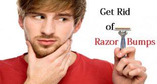 Get Rid of Razor Bumps