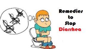 Remedies to Stop Diarrhea