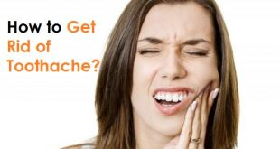 Get rid of a toothache
