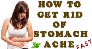 Get rid of a stomach ache