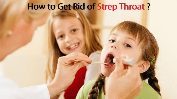 how to get rid of bacteria in throat