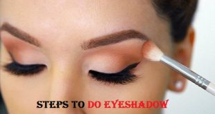 do eyeshadow