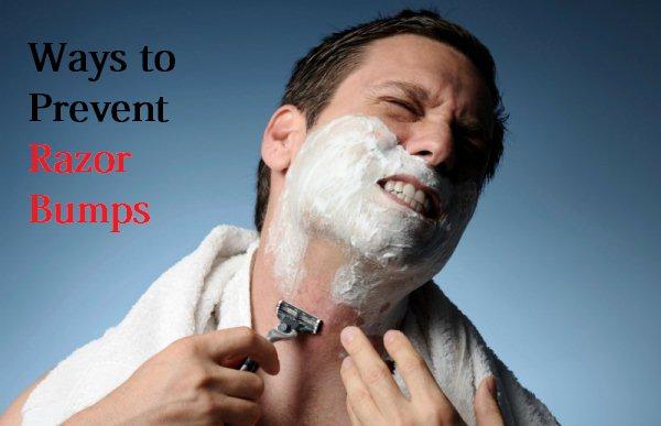 prevent razor bumps