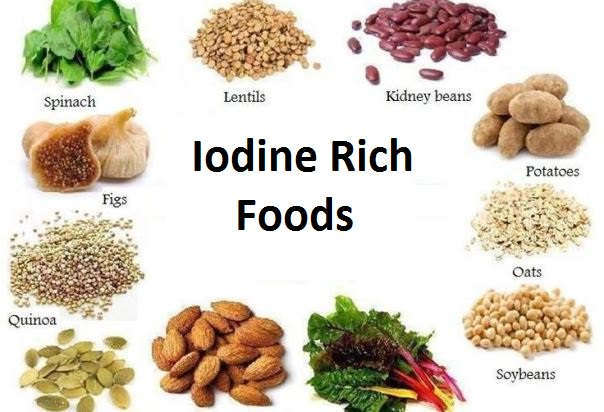 What Foods Are High In Iodine And Iodide